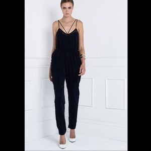 FINDERS KEEPERS At It Again Jumpsuit in Navy
